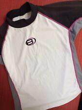 BARE Rash Guard Short Sleeve SURF SHIRT Unisex M L ?