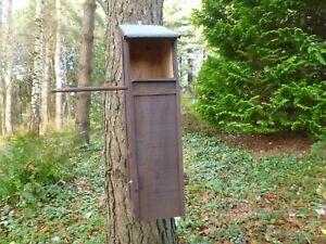 Tawny owl nest box by Homes for woodland folk
