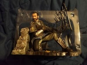 THE ORDER 1886 GALAHAD UNDER FIRE STATUE Only COLLECTOR'S ED PS4 Sony 2014 w/box