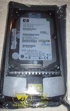 NEW HP 9GB HOT PLUG WIDE ULTRA320 SCSI 15K RPM HDD W/TRAY 189393-001,306641 NIP