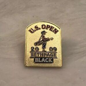 2009 US OPEN Lapel Pin Bethpage Black Lucas Glover