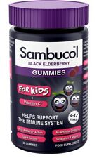 Sambucol Kids Gummies | Vitamin C | Immune Support Supplement | 30