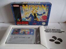 Super Nintendo SNES juego young Merlin OVP