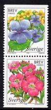 SWEDEN MNH 1998 SG1972-73 Wetland Flowers
