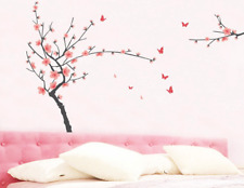 Plum Blossom Vinyl Home Room Decor Wall Decal Sticker Bedroom Removable Mural