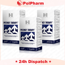 3x POTENCY THERAPY 60 caps Strong Long Erection Better Sex Ejaculation vigrax