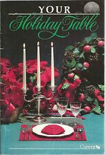 Your Holiday Table Joanne Karlson PB 1988