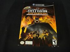Batman: Rise of Sin Tzu Lithograph Commemorative Edition (GameCube) New Sealed