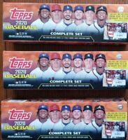 2020 Topps Complete Set OPEN No Relics or Rookies- 3 box lot FREE SHIPPING!