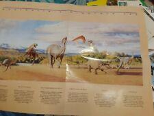 australia dinosaurs australia post poster 41 x 60cm