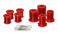 05-12 C6 Corvette BASE Front Upper Lower Control Arm Bushings Polyurethane RED