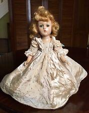 "1930s MADAME ALEXANDER MME ALEXANDER Wendy Ann 14"" Composition Doll"