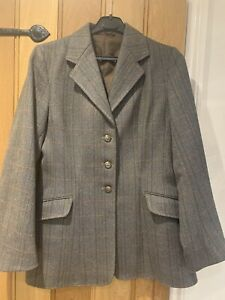 Caldene Ladies Tweed Show/Hunt Jacket - Size 36