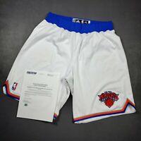 "100% Authentic Iman Shumpert NY Knicks 2013 Game Worn Used Shorts Size 2XL+2"""