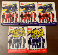 1989 Topps-NKOTB-New Kids On The Block Music Boy Band(5)Wax Packs Cards/Stickers