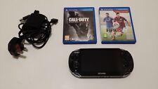 Ps Vita console, Ac Adapter, 4gb memory, 2 games, bundle