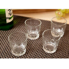 Korean SOJU Shot Glass 4P Set Korea traditional Whiskey Cup barware