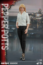 "Hot Toys 1/6 Iron Man 3 PEPPER POTTS 12"" Action Figure MMS311 Gwyneth Paltrow"