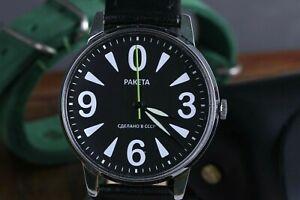 Wrist watch Raketa Big Zero, Soviet Mens watches, Mechanical Russian watches