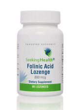 Seeking Health Folinic Acid Lozenge 800mcg 60 Lozenges