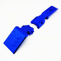 Traxxas Revo 3.3 Alloy Front Skid Plate, Blue by Atomik RC - Replaces TRX 5337