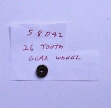 Genuine Hornby Spare Part S 8042  Gear Wheel (26 tooth) for R 255 0-4-0 locos