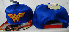 Wonder Woman Dc Comics Satin Snap Back Hat Nwt