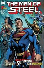 MAN OF STEEL #1, New, First print, DC Comics (2018)