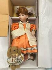 """Florence Collection Limited Edition Collectible Porcelain Doll """"Jemina"""" NEW COND"""