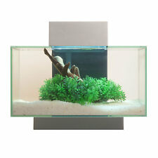 Fluval 6 Gallon Edge Aquarium 21 LED, Silver