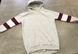 NEXT Girls Age 10 Years Grey  Hoodie Jumper Dress - Excellent Condition
