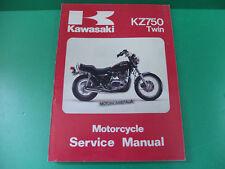 KAWASAKI Z750 KZ Z 750 CSR manuale officina riparazione owner's service manual
