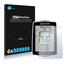 6x Protecteur d'écran pour Sigma BC 16.16 STS Film Plastique Invisible Shield clair