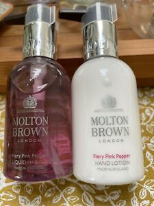 Molton Brown Fiery Pink Pepper Hand Wash & Hand Lotion