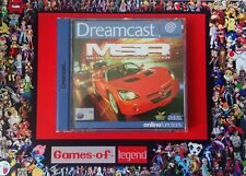 jeu dreamcast METROPOLIS STREET RACER complet
