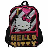 """17"""" Large Hello Kitty Backpack W/ Padded Laptop Compartment"""