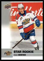 2019-20 UD CHL Base Set - SP's #392 Dylan Guenther - Edmonton Oil Kings