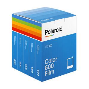 Polaroid Color Film for 600-  (5  packs of 8 films) Total 40
