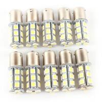 HOT 10X 12V 1156 BA15S 5050 18SMD LED White Car RV Trailer Light Bulb 7503 1141
