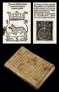 1501 Thomas Kempis IMITATION OF CHRIST Ascetic CHRISTIAN MYSTICISM p.-incunable