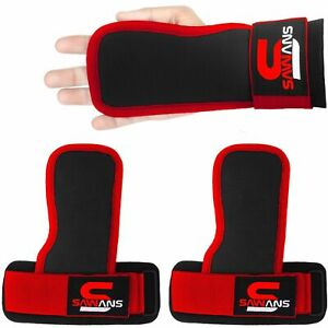 Wrist Straps Weight Lifting Bar Grips Hand Support Brace Padded Gym Wraps Sports