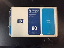 HP80 HP 80 INK Cartridge for HP DesignJet 1055 1050  1 x Cyan 1 x Magenta