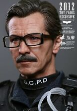 HOT TOYS TDK THE DARK KNIGHT JIM GORDON 1/6 FIGURE S.W.A.T. BATMAN JOKER MMS182