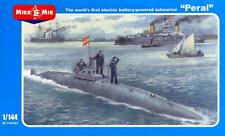 MikroMir Models 1/144 PERAL Spanish First Electric Battery Powered Submarine