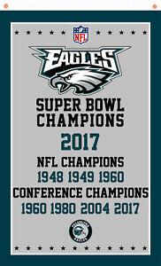 Philadelphia Eagles Champions flag  90x150cm 3x5ft best Team banner