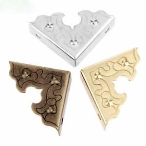 10PCS Jewelry Box Wooden Case Decor Feet Legs Metal Corner Protector Furniture l