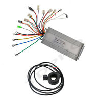 48v 1000w Brushless Electric Motor Speed Controller Thumb Throttle Scooter eBike