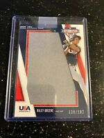 2019 PANINI STARS & STRIPES RILEY GREENE GU JERSEY /182 DETROIT TIGERS RC