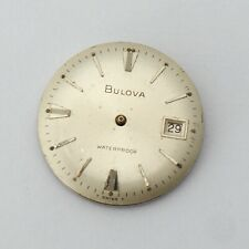 Vintage Bulvoa Cal 11ALCD Men's Watch Movement Parts 17j Swiss Repairs