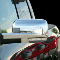 09-12 Dodge Ram 1500/2500/3500 Mirror Cover With Turn Signal Hole Chrome ABS